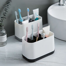 Electric Toothbrush Holder Large Bathroom Caddy Storage Organizer Bath Removable