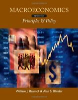 Macroeconomics Principles And Policy -  by Baumol