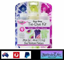 Tulip One Step - 3 Color Tie Dye Kit - PSYCHEDELIC - Dyes up to 9 Projects