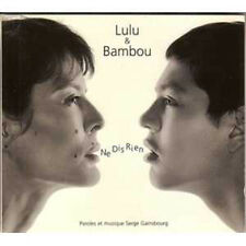 ☆ CD SINGLE Lulu GAINSBOURG & BAMBOU Ne dis rien 2-Track Digifile NEUF - NEW  ☆