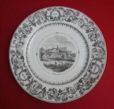 Vtg Chateau Lafite Pauillac Limoges France J. Vieillard & Co Bordeaux Wine Plate