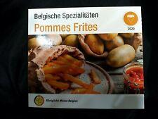 Rare : Bu Belgique Pommes frites  World Money Berlin 2020 ; 500 Ex