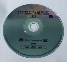 Paranormal Activity: The Ghost Dimension (3D Blu-ray Disc Only) Like New Rated M