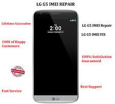 Remote IMEI Repair LG G5