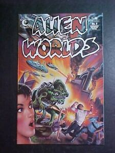 ALIEN WORLDS #8! VF 1984 ECLIPSE COMICS
