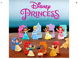 McDonalds 2021 Disney Princess  Happy Meal toys complete set of 8 !!!