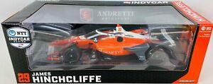 1:18 2020 Greenlight James Hinchcliffe #29 Andretti Autosport IndyCar Diecast