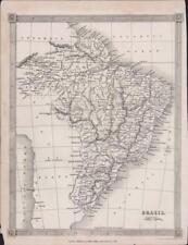 1835.  BRAZIL.   Map.  Alexander Findlay   DB65