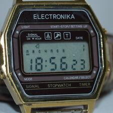 $$$ VERY RARE SOVIET Russian WATCH ELEKTRONIKA Digital LCD Electronika sport old