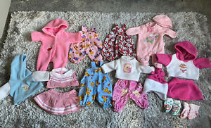 Zapf Creation Baby Annabell & Born Dolls Clothes bundle lot 16-18 inch