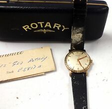 Vintage ROTARY Maximus Incabloc Swiss Made Gold Plated Mechanical Watch - L22
