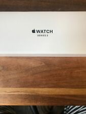 Apple Watch Series 3 GPS 42mm Space Gray Case Black Sport Band Brand New