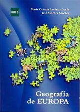 UNED Geografía de Europa, Mª Victoria Azcárate Luxán, José Sánchez, eBook, 2013