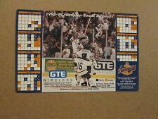 ECHL Hampton Roads Admirals 1998-99 Magnet Schedule