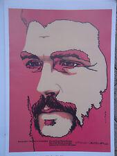 OSPAAAL POLITICAL Poster Che Guevara HEROIC GUERRILLA CUBAN HERO REVOLUTION