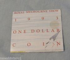 """#C14.  1993 LANDCARE MELBOURNE """"M"""" MINT MARK  AUSTRALIAN UNCIRCULATED  $1"""