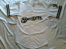 Milwaukee Brewers Jersey #21 Escobar L (42-44) Teamwork Apparel MLB White