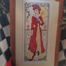 Victorian Lady Cross Stitch Chart