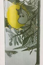 Moomin Glass Bottle with Cork Lid
