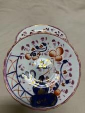 More details for 3 x gaudy welsh smoking indian saucers