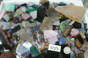Edelstein ,Mineral  Rohstein -  Abschnitte - ca 4000 gr Nr  4084
