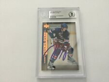 Marc Staal Signed UD Upper Deck Young Guns RC Card Slabbed Beckett BAS BGS a