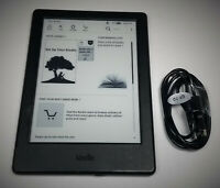 Amazon Kindle Basic (8th Generation), WiFi, 4GB, 6in, Black, eReader!
