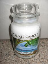 Yankee Candle COCONUT BAY Large Jar 22 oz Candles RARE HTF