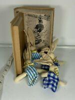 Little Jack Rabbit's Adventures David Cory Finger Puppets Wood Box