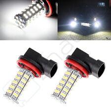 2X H11 6000K Xenon White 68 SMD LED DRL Daytime Running Lights Bulbs  Light
