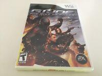 G.I. Joe: The Rise of Cobra (Nintendo Wii, 2009) Wii NEW!