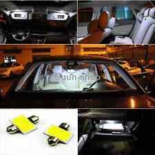 2pcs White 31mm 12smd COB LED DE3175 Bulbs For Car Interior Dome Map Lights MGO