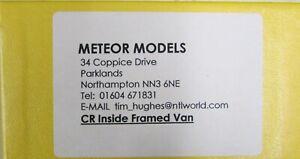 7mm Scale Caledonian Railway/LMS Inside Framed Van Kit