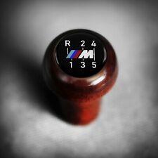 BMW Wood M DogLeg Getrag Shift Knob Push-On E23 E24 M535i E28 M635CSi E30 M3 EVO
