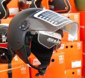 Casco Moto e Scooter DemiJet s-line S706 Nero Opaco Doppia visiera tg XL 61