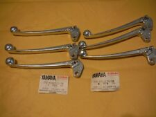 yamaha jt1 jt2 mx80 gt80 rd60 dt80 nos  (6) right brake lever 232-83922-31-38