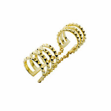 Sterling-Silver 14K Vermeil Plated Don't Get It Twisted Adjustable