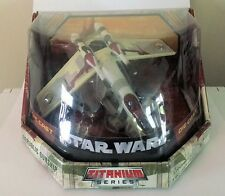 "Star Wars Titanium Series Ultra Republic Gunship Large Size 7"" Wingspan"
