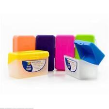"""BAZIC Bright Color Multi Purpose Card File Box 3"""" x 5"""" - Assorted Colors"""