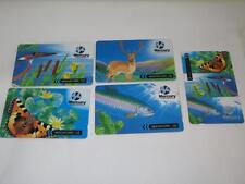 Mercury Animals Collectable Phone Cards