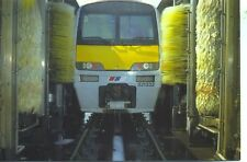 Class 321 4 car Electric Multiple Unit Ilford Washing Plant1990s postcard