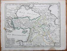 HERISSON: Map of Turkey Cyprus - 1800