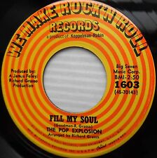 POP EXPLOSION northern soul rock 45 Fill my soul In the early evening time e7377