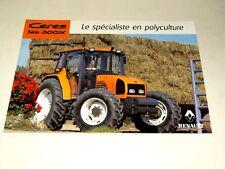 Prospectus Tracteur RENAULT CERES 300X  prospekt traktor tractor trattore