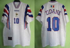 Maillot Equipe de France 1996 Zidane exterieur Shirt #10 Adidas away Vintage - L