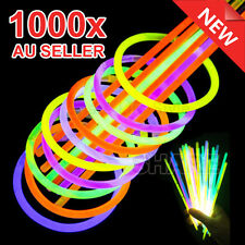1000 Mixed Color Glow Sticks Bracelets Light Party Glow in the Dark Glowsticks