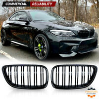 BMW 2 series F22 F23 2dr M performance gloss black kidney grille grilles grills
