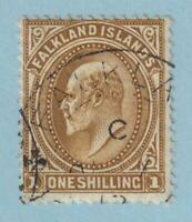 FALKLAND ISLANDS 27  USED - NO FAULTS VERY FINE!