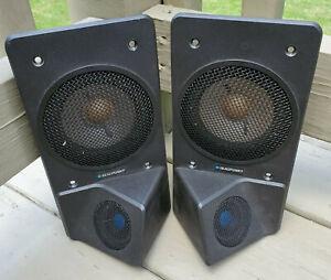 Vintage Blaupunkt TW 4030 Car Speakers West Germany 4 Omega 30 Watts Flush Mount