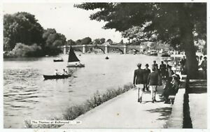 The Thames at Richmond, postcard maybe mid-1940s